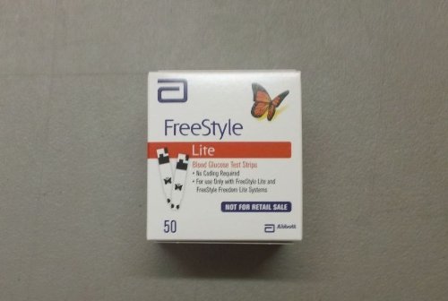 Freestyle Lite Test Strips Box Of 50 Lancets Org
